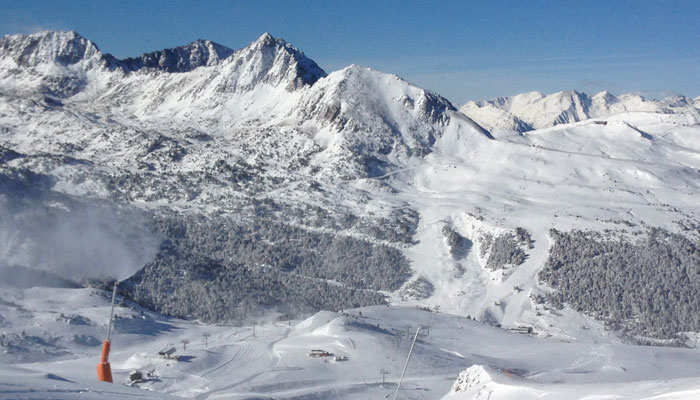 Impact of the ski industry in Andorra